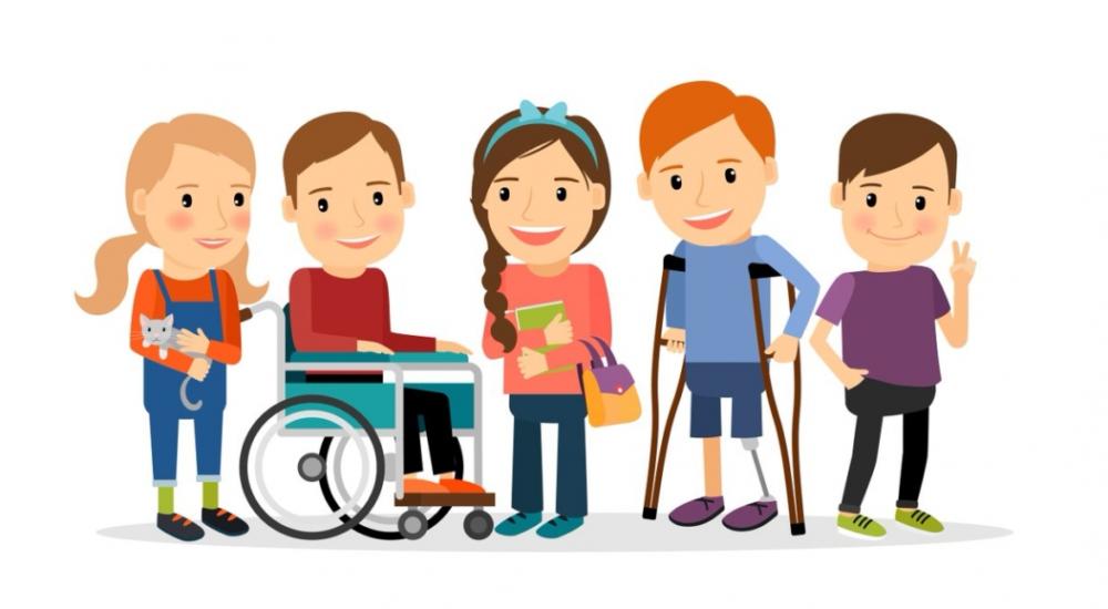 рисунка на деца с и без увреждане