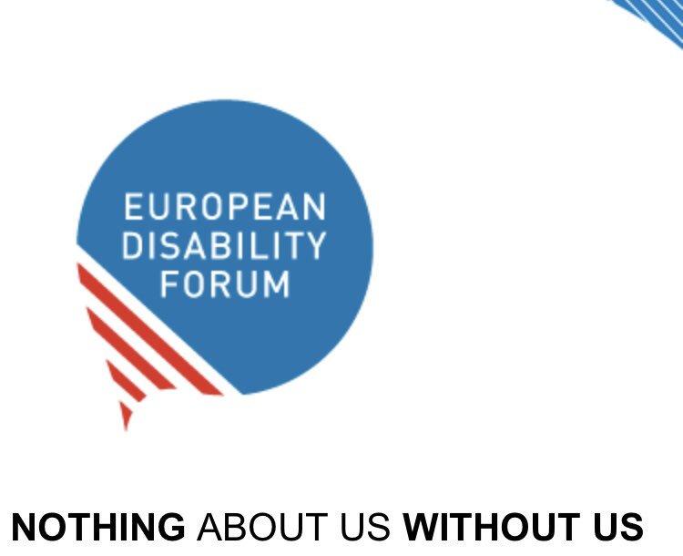 логото на европейския форум по уврежданията