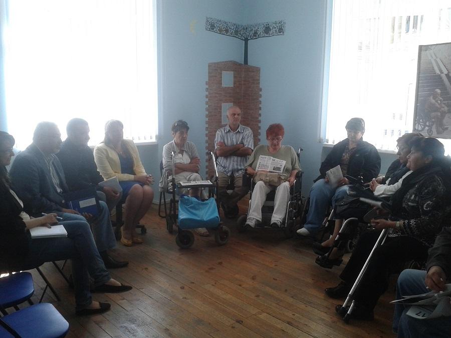 среща с представители на десните партии в офиса на ЦНЖ