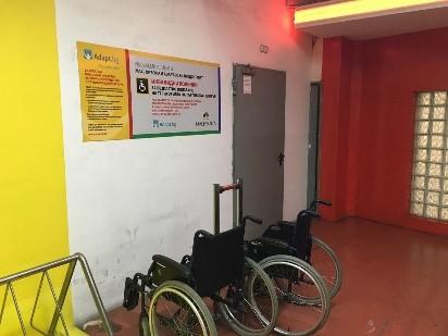 стая с инвалидни колички