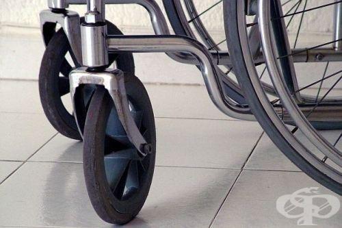 част от инвалидна количка